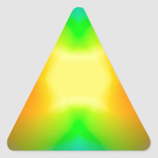 Sticker Triangulaire L'univers de division
