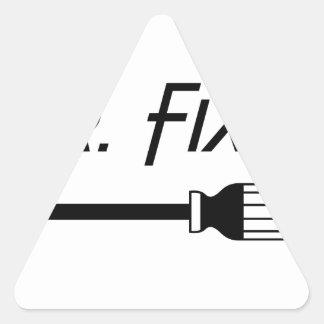 Sticker Triangulaire M. Fix It