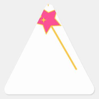 Sticker Triangulaire magic a tordu