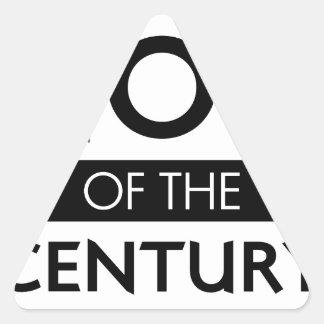 Sticker Triangulaire Maman du siècle