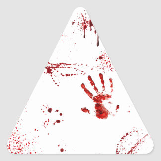 Sticker Triangulaire Massacre