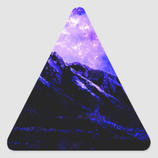 Sticker Triangulaire Matanuska vernal