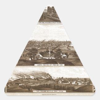 Sticker Triangulaire Milwaukee 1882