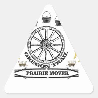 Sticker Triangulaire moteur de prairie d'ot