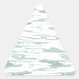 Sticker Triangulaire Motif 10 de courses de brosse