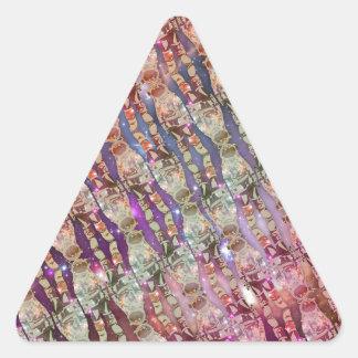 Sticker Triangulaire Motif d'astronaute