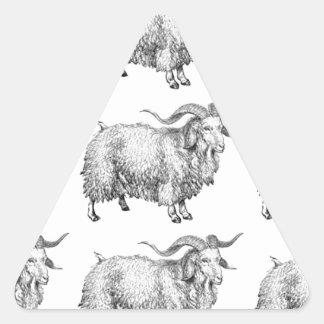 Sticker Triangulaire motif de la vieille RAM
