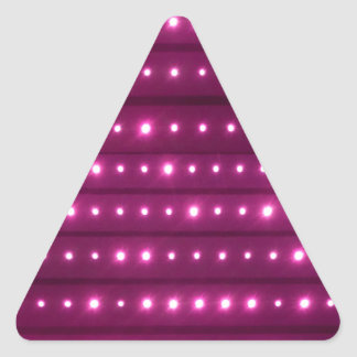 Sticker Triangulaire Motif de rayures de galaxie