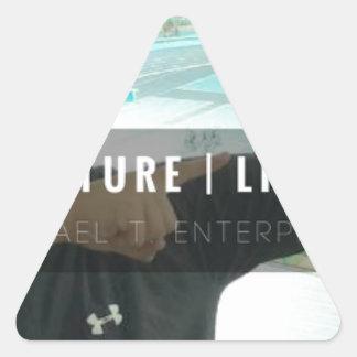 Sticker Triangulaire motivation - vente - mentalité