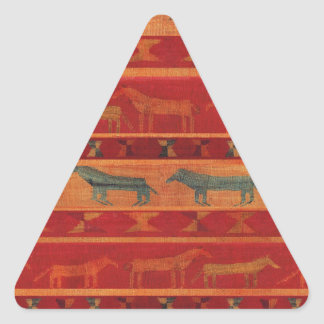 Sticker Triangulaire Mustangs gitans sauvages