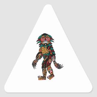 Sticker Triangulaire Mythe Pacifique