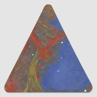 Sticker Triangulaire Nébuleuse