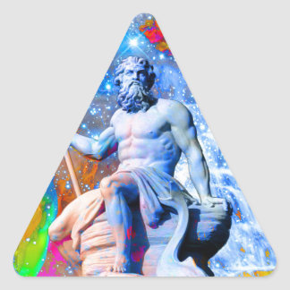 Sticker Triangulaire Neptune