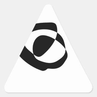 Sticker Triangulaire Nous avons besoin de vous