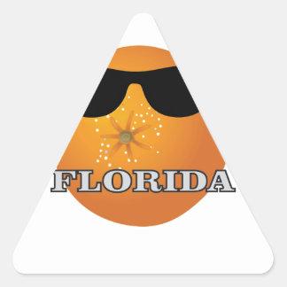 Sticker Triangulaire nuances de la Floride
