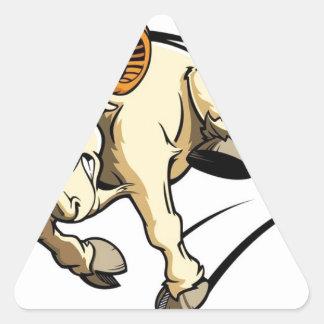 Sticker Triangulaire Obéissez la RAM