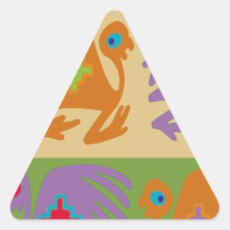 Sticker Triangulaire Oiseaux péruviens
