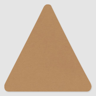 Sticker Triangulaire PAPIERS PEINTS T de MILIEUX de solid-brown3 SANDY