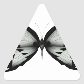 Sticker Triangulaire Papillon sage alpin