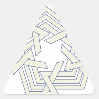 Sticker Triangulaire Penta