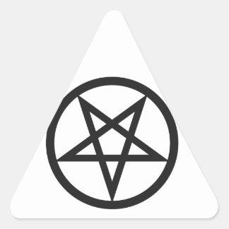 Sticker Triangulaire Pentagone étoilé audacieux