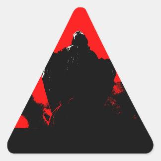 Sticker Triangulaire Petite Marie - Francois Ville