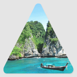 Sticker Triangulaire PhiPhiislands_thailand
