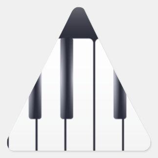 Sticker Triangulaire Piano électrique