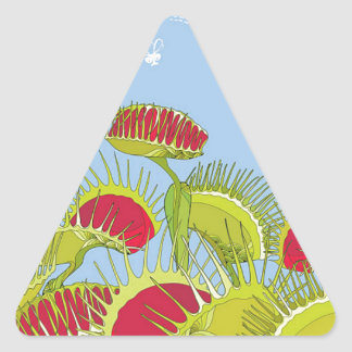 Sticker Triangulaire piège bleu de mouche