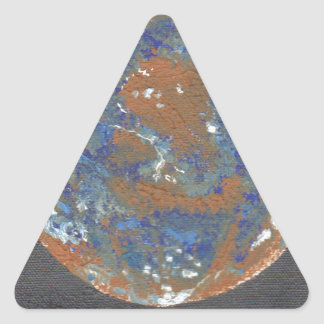 Sticker Triangulaire Planey Mercury