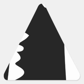 Sticker Triangulaire Poing augmenté