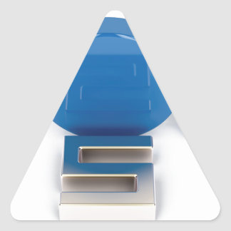Sticker Triangulaire Principal 5