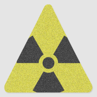 Sticker Triangulaire Radioactif