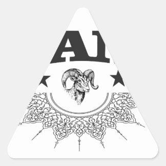 Sticker Triangulaire RAM de l'étoile noire