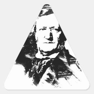 Sticker Triangulaire Richard Wagner