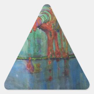 Sticker Triangulaire Robinet rouillé
