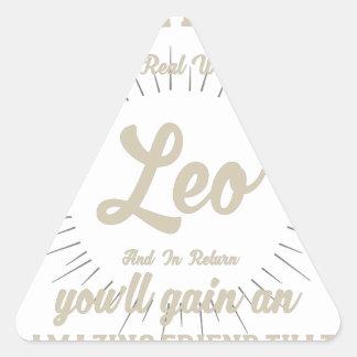 Sticker Triangulaire Saison de Lion