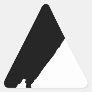 Sticker Triangulaire Séance de vautour