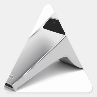 Sticker Triangulaire Sifflement d'arbitre