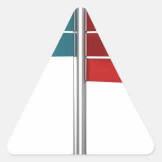 Sticker Triangulaire Signaux de direction