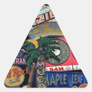 Sticker Triangulaire Signes de Toronto