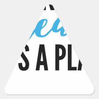Sticker Triangulaire son+a+plan (1)