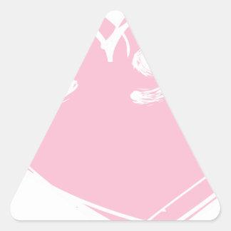Sticker Triangulaire soyez still2