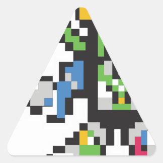 Sticker Triangulaire Stackitron