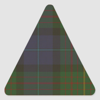 Sticker Triangulaire Tartan d'état de la Californie