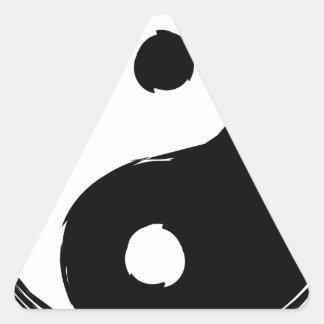 Sticker Triangulaire tau