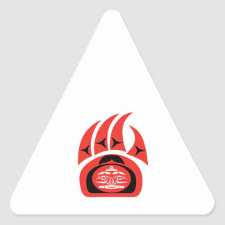 Sticker Triangulaire Territoire marqué