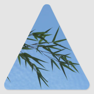 Sticker Triangulaire the sky seen from earth