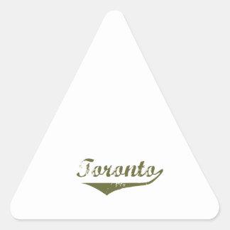 Sticker Triangulaire Toronto
