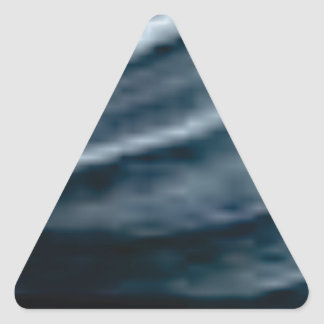 Sticker Triangulaire torsion des lignes